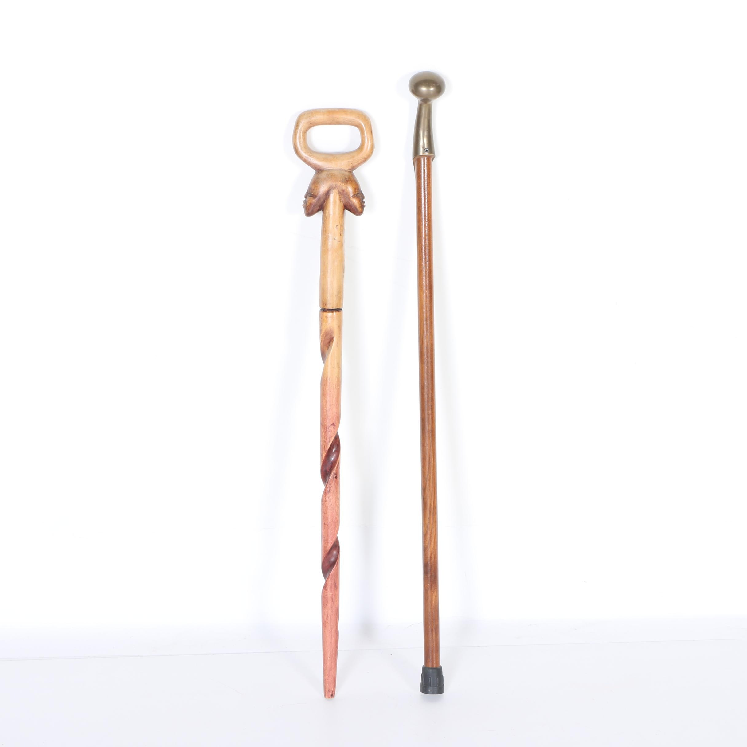 Pair of Wooden Canes