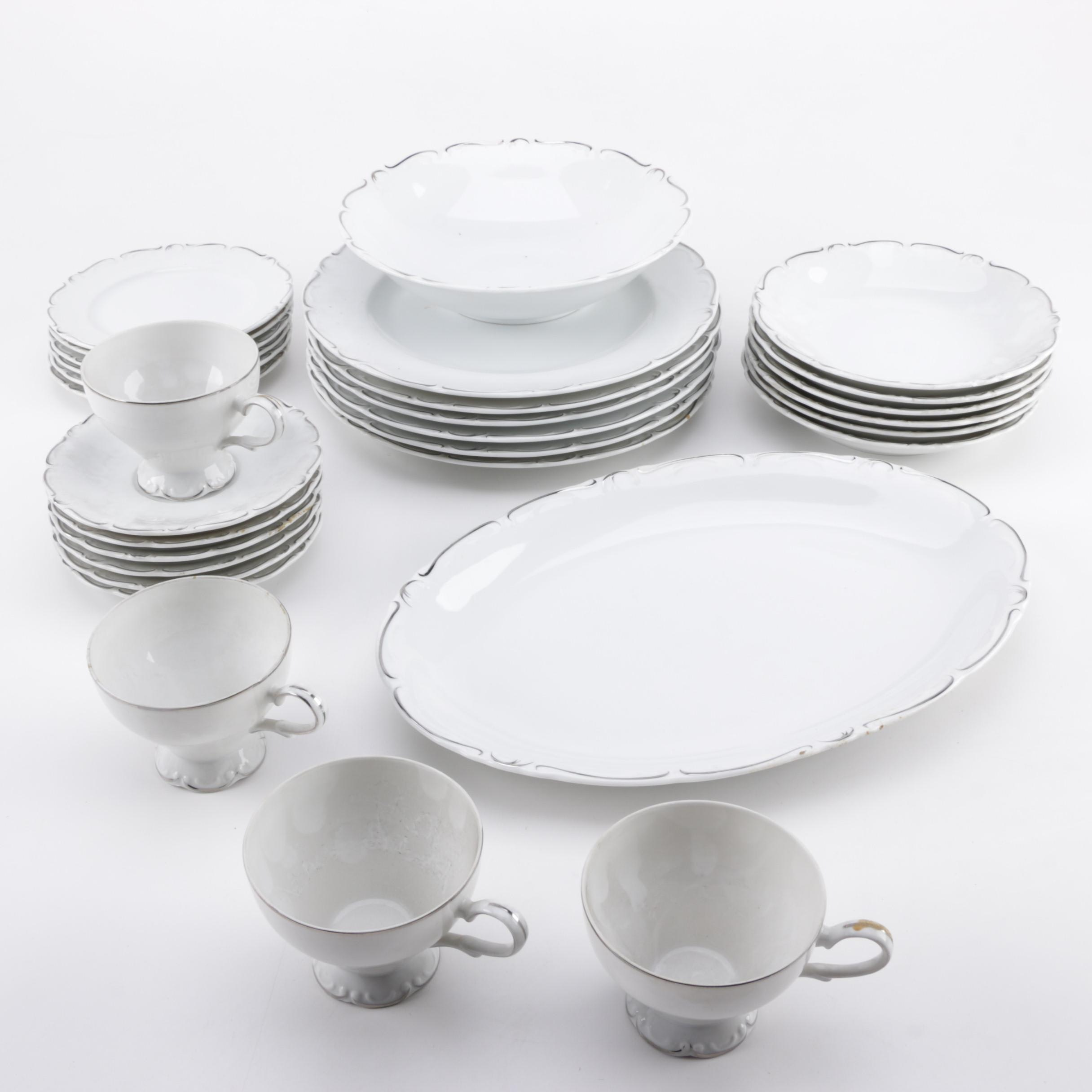 "Royal Sovereign ""Simplicity"" Fine China Tableware"
