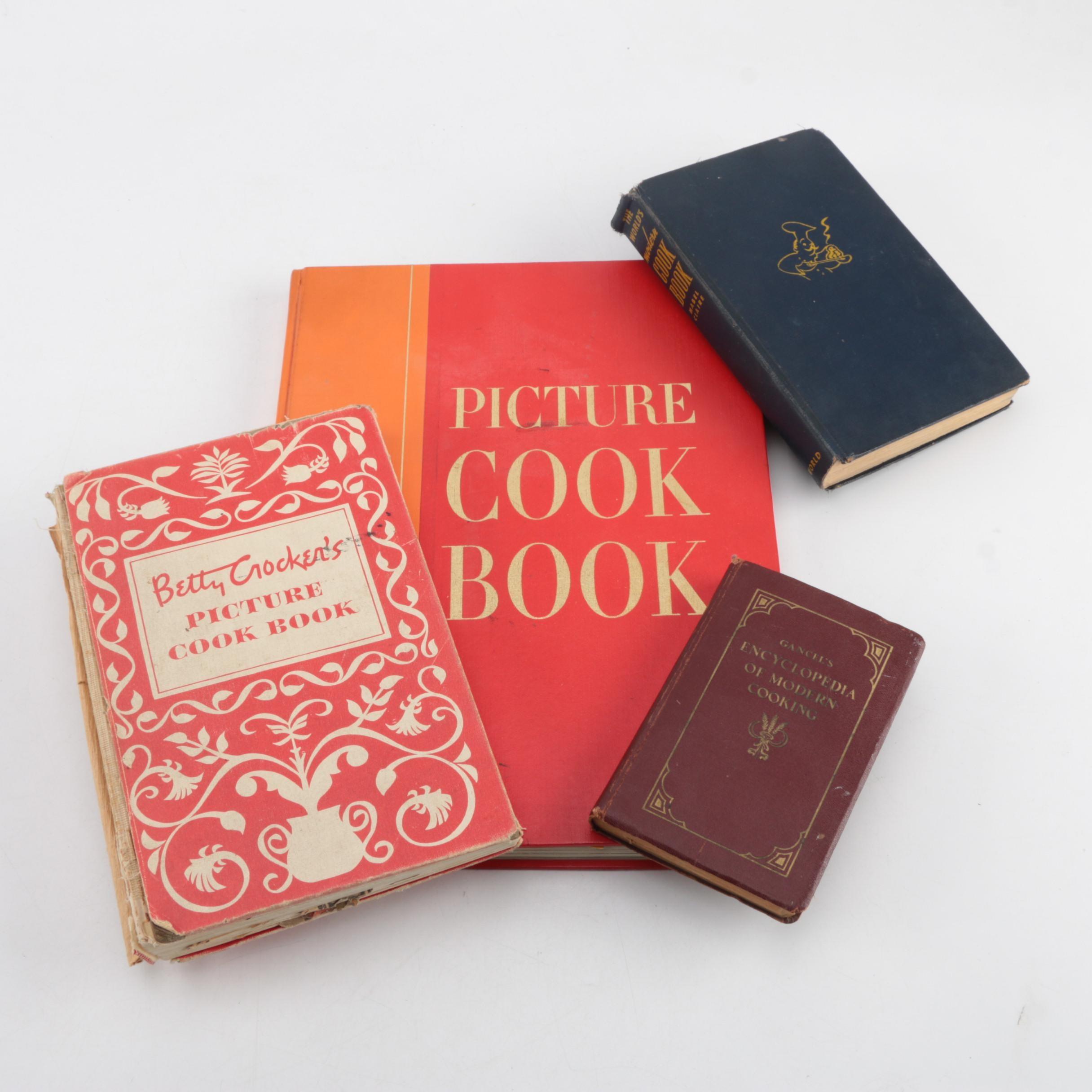 "Vintage Cookbooks featuring ""Life"" Magazine and ""Betty Crocker"""