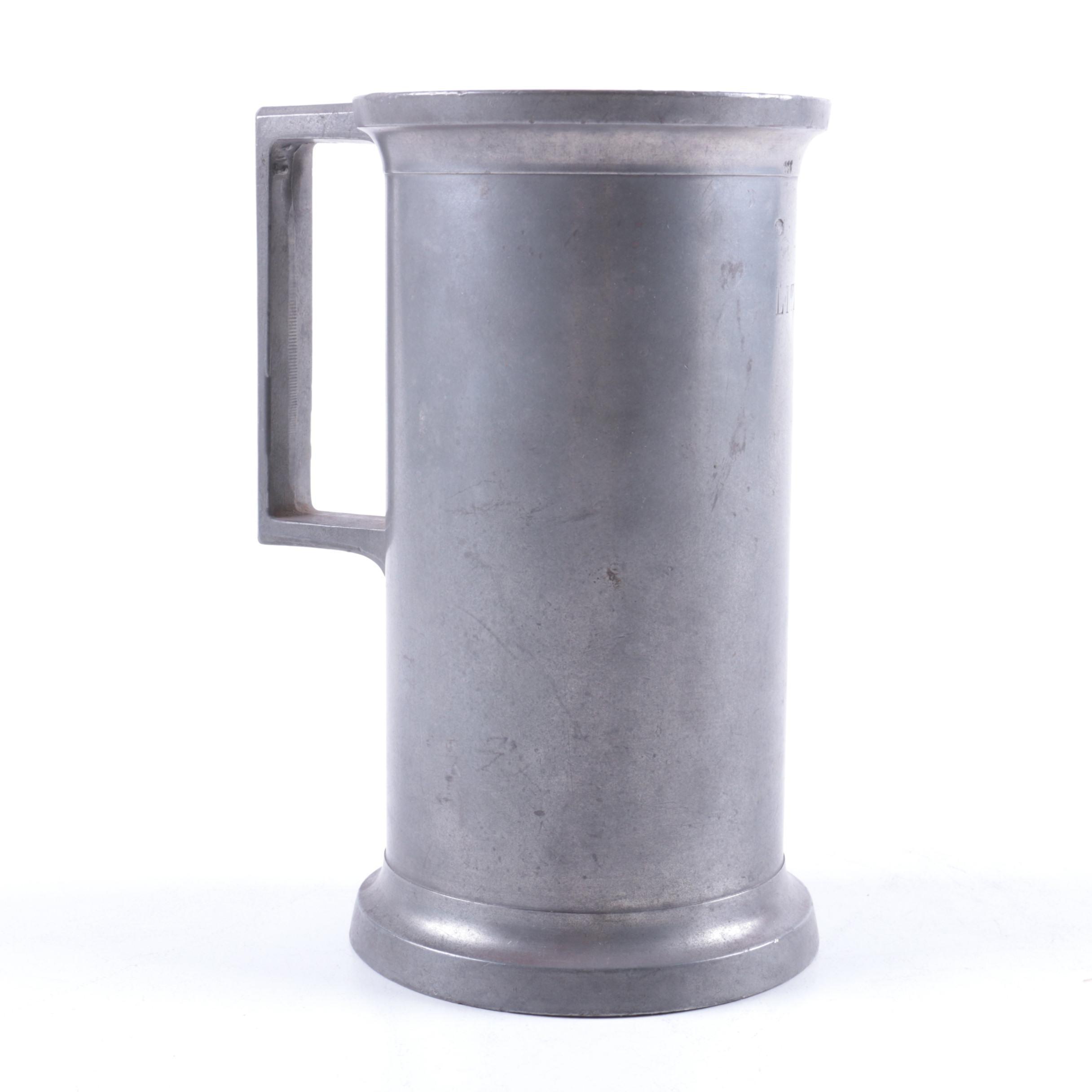 Pewter Tone Mug