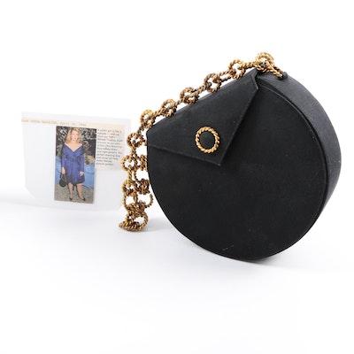 Renaud Pellegrino Paris Black Evening Bag