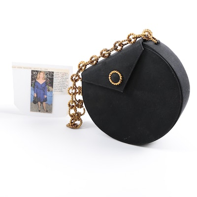 Renaud Pellegrino Paris Black Evening Bag