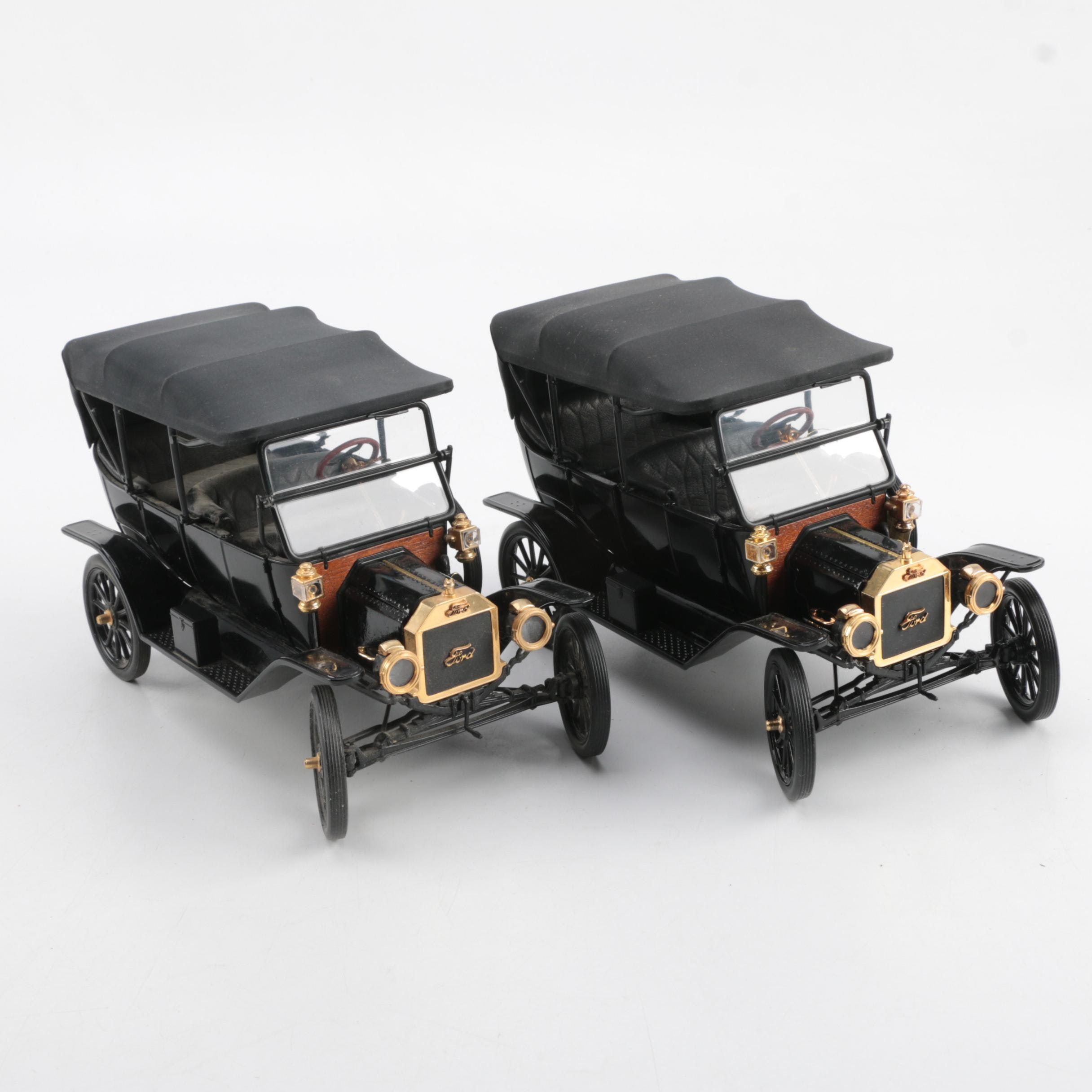 Pair of 1920s Ford Model T Touring Cars