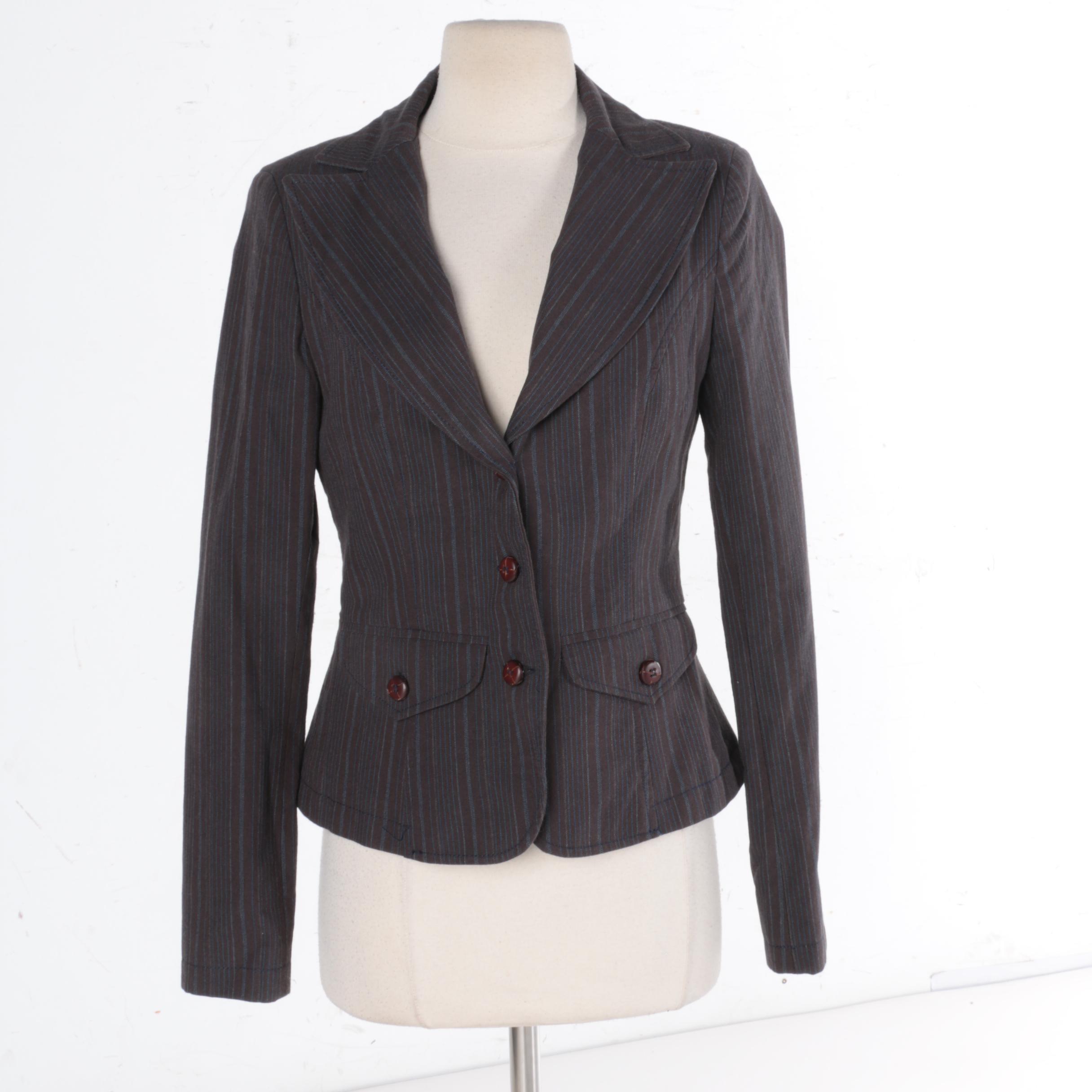 Women's Valentini Roma Pinstripe Jacket