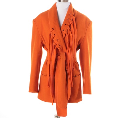 Women's Luke Randolph Orange Coat