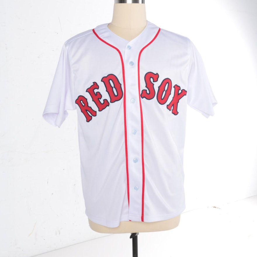 0c3eb1cb365 Wade Boggs Autographed Boston Red Sox Jersey JSA COA   EBTH