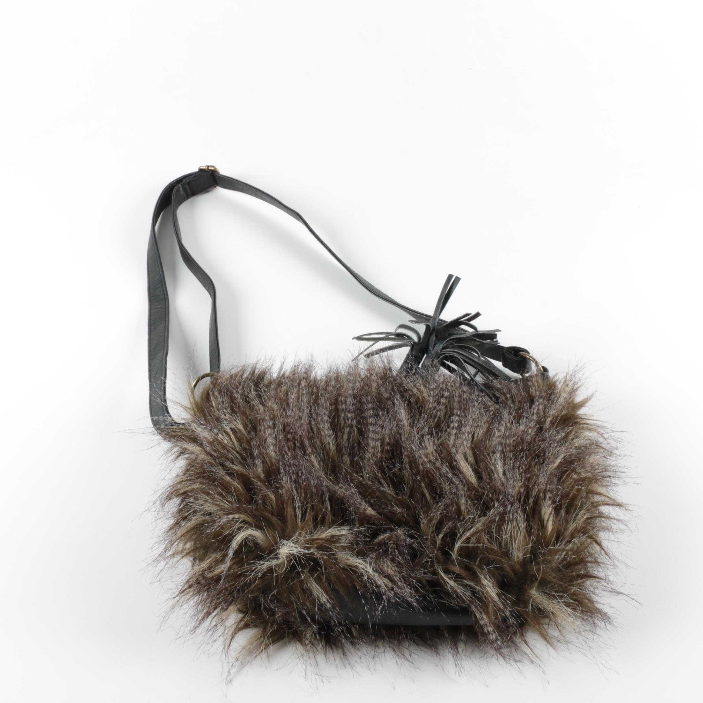 Murval Faux Fur Handbag