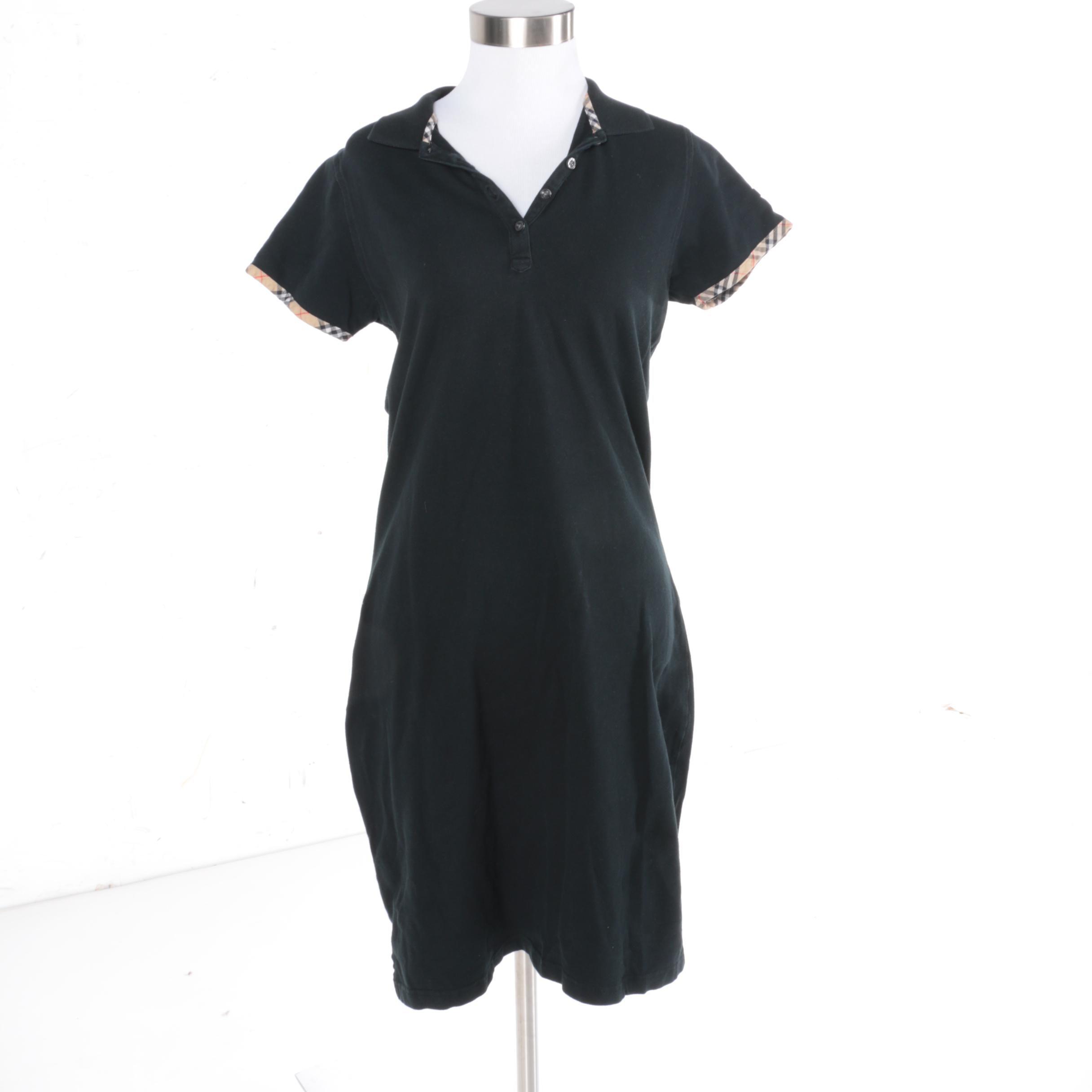 Burberry Golf Navy Polo Dress
