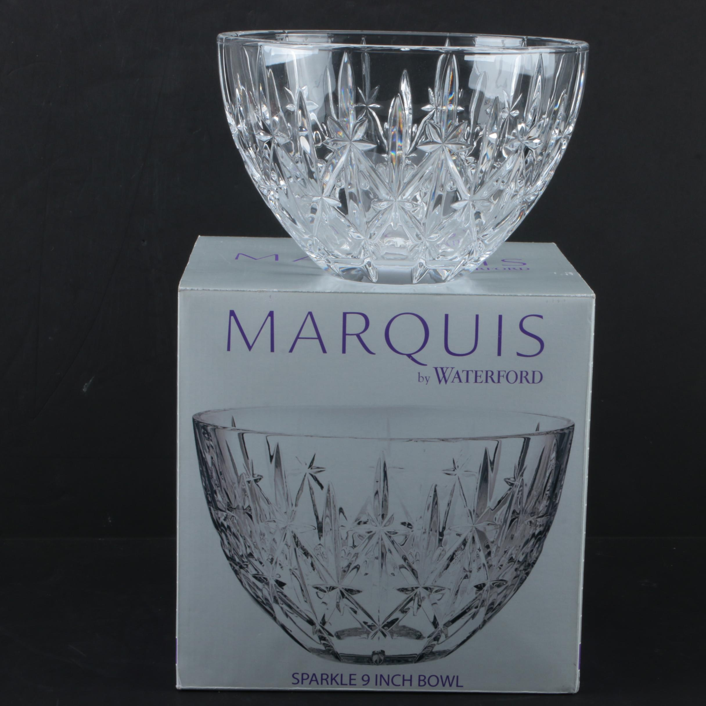 "Marquis by Waterford ""Sparkle"" Crystal Bowl"
