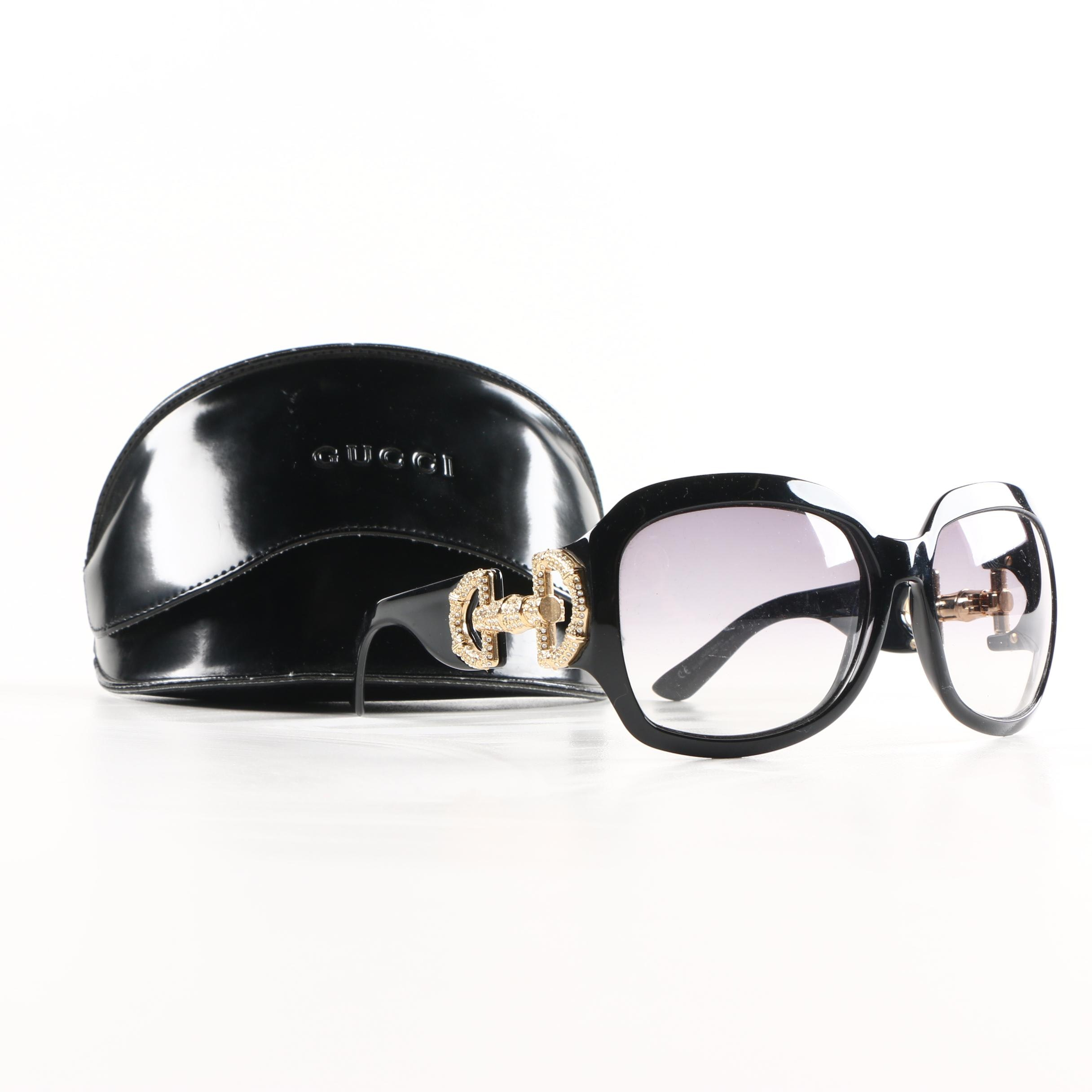 Gucci GG 3017/S Horsebit Sunglasses