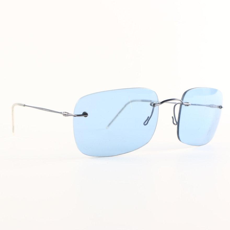 d68c76e06205 Giorgio Armani 1612 Rimless Sunglasses   EBTH