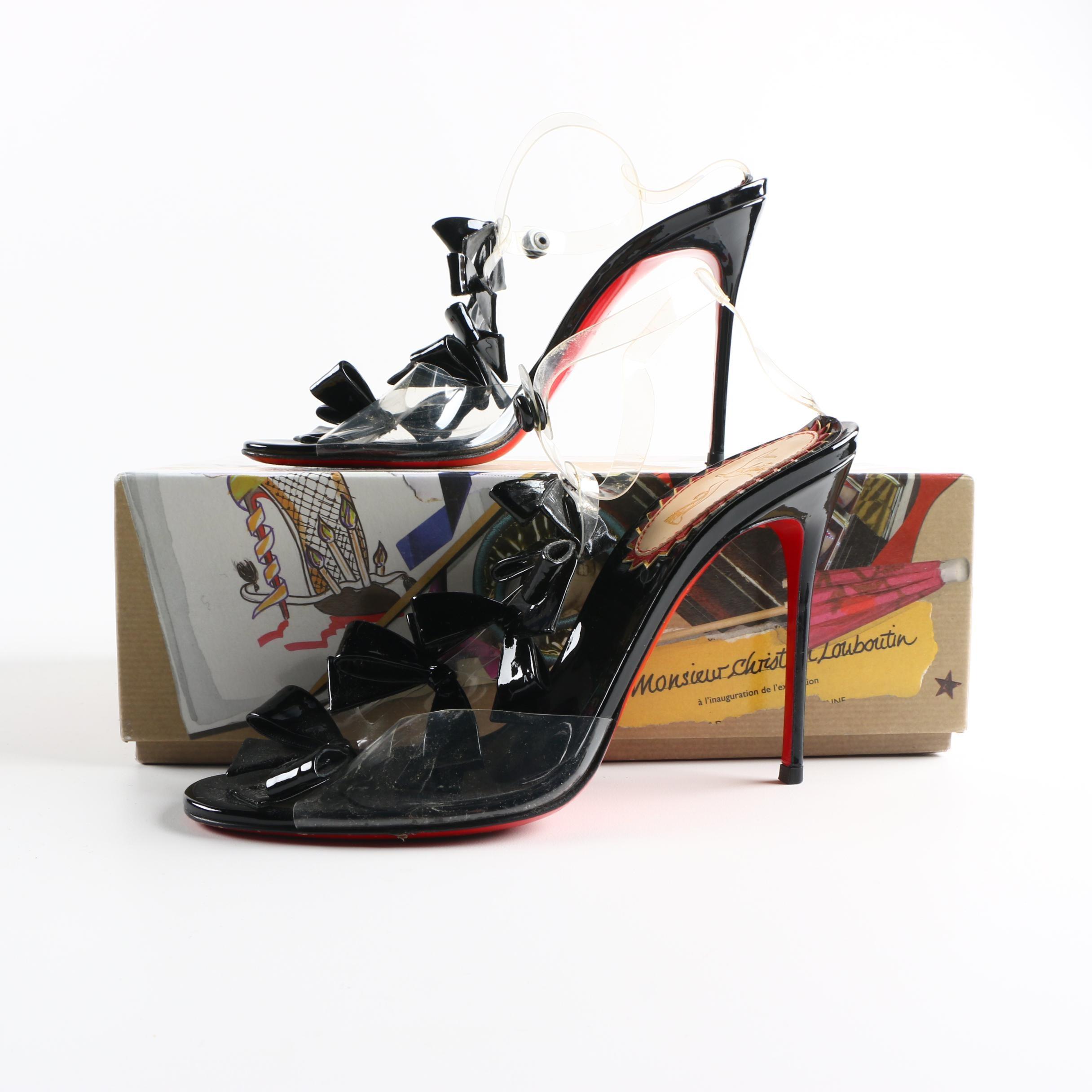 Christian Louboutin Bow Bow Stiletto Heels