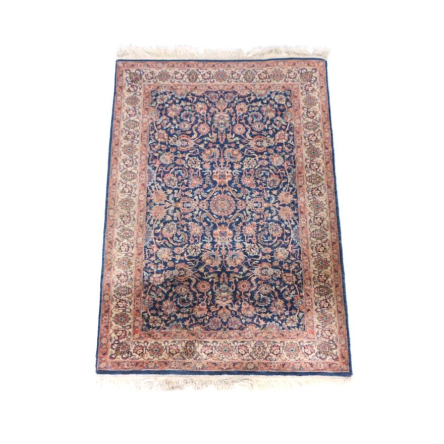Hand Knotted Persian Hamadan Wool Area Rug Ebth: Hand-Knotted Indo-Persian Obeetee Wool Area Rug : EBTH