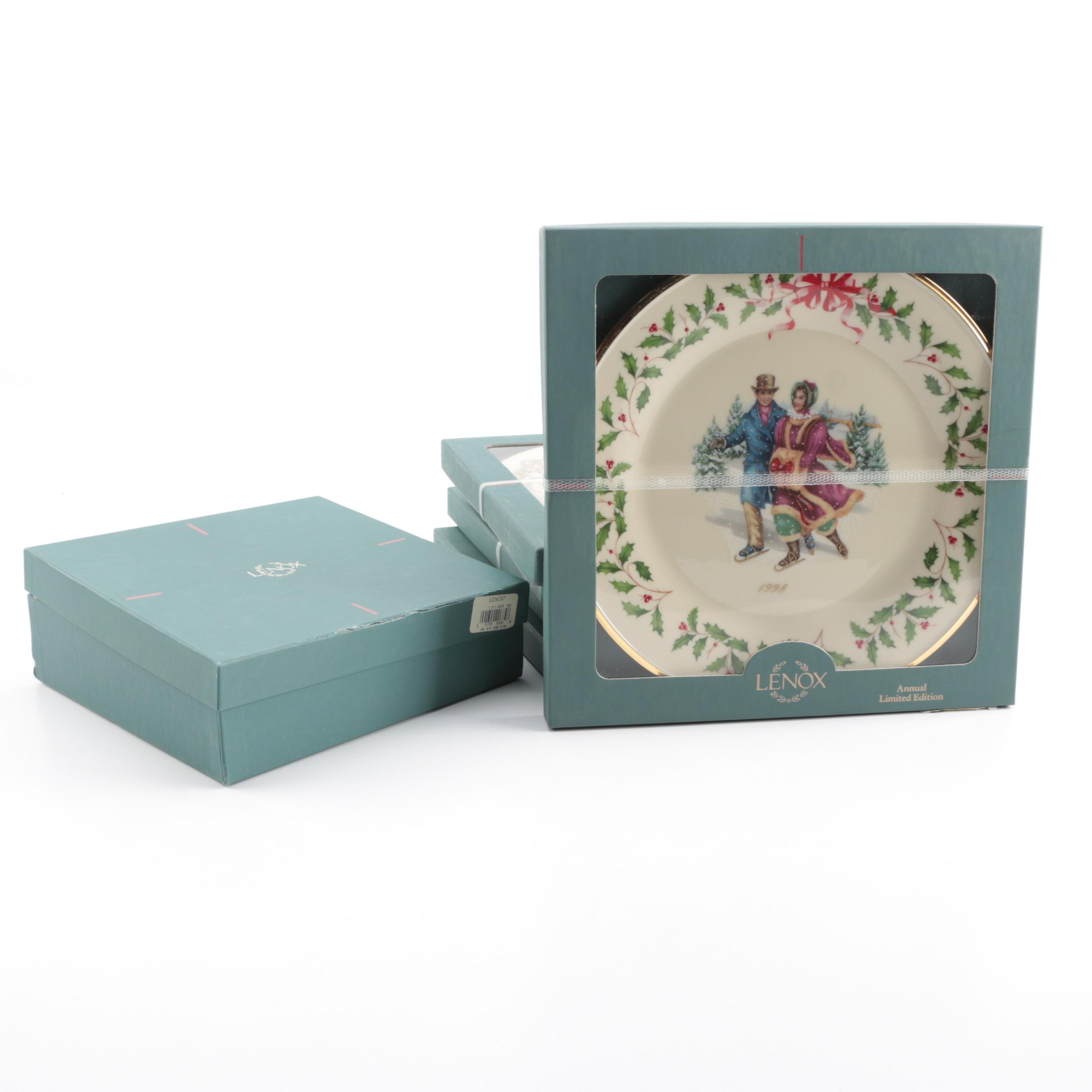 Limited Edition Lenox Ceramic Plates and Bowl