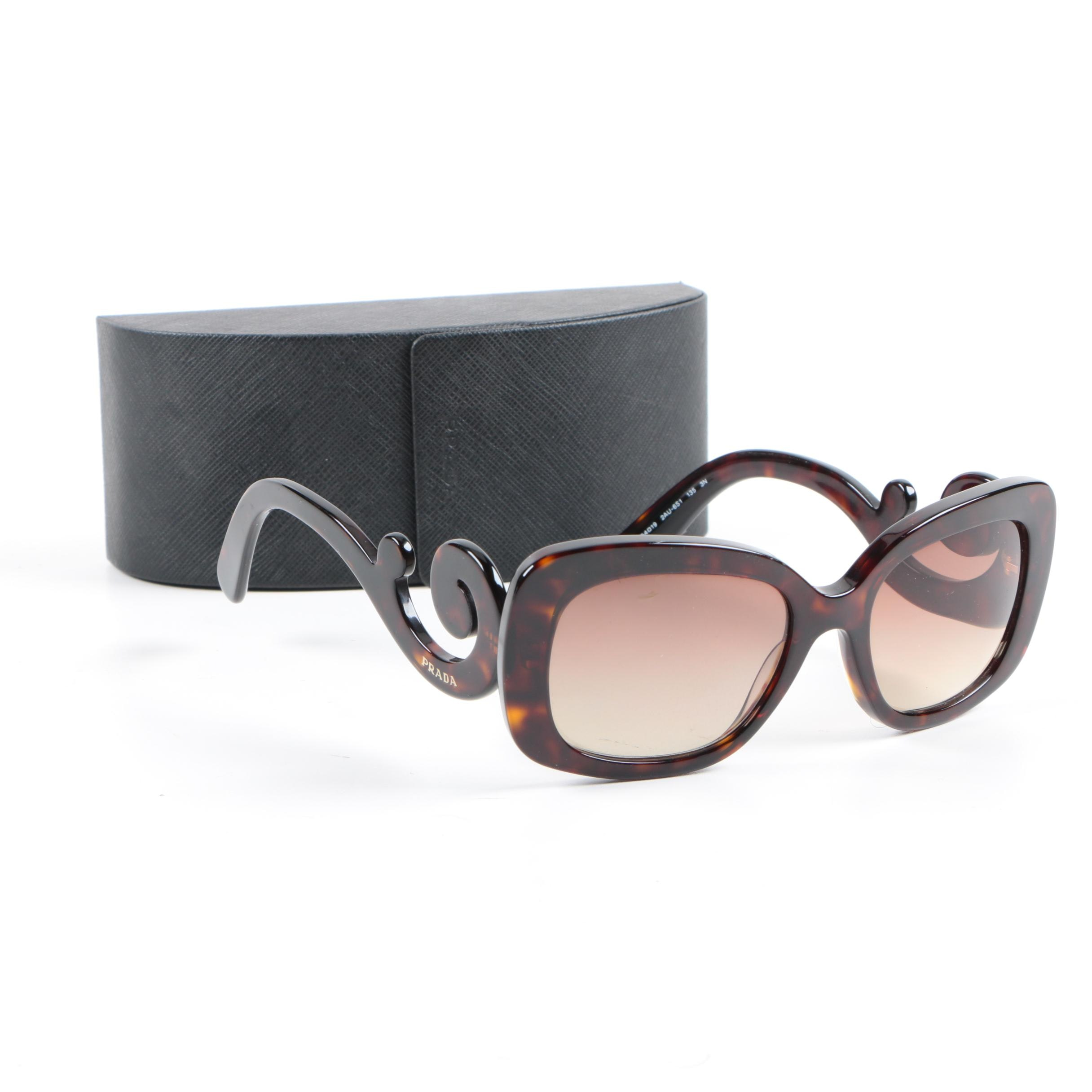 Prada Prescription Sunglasses with Case