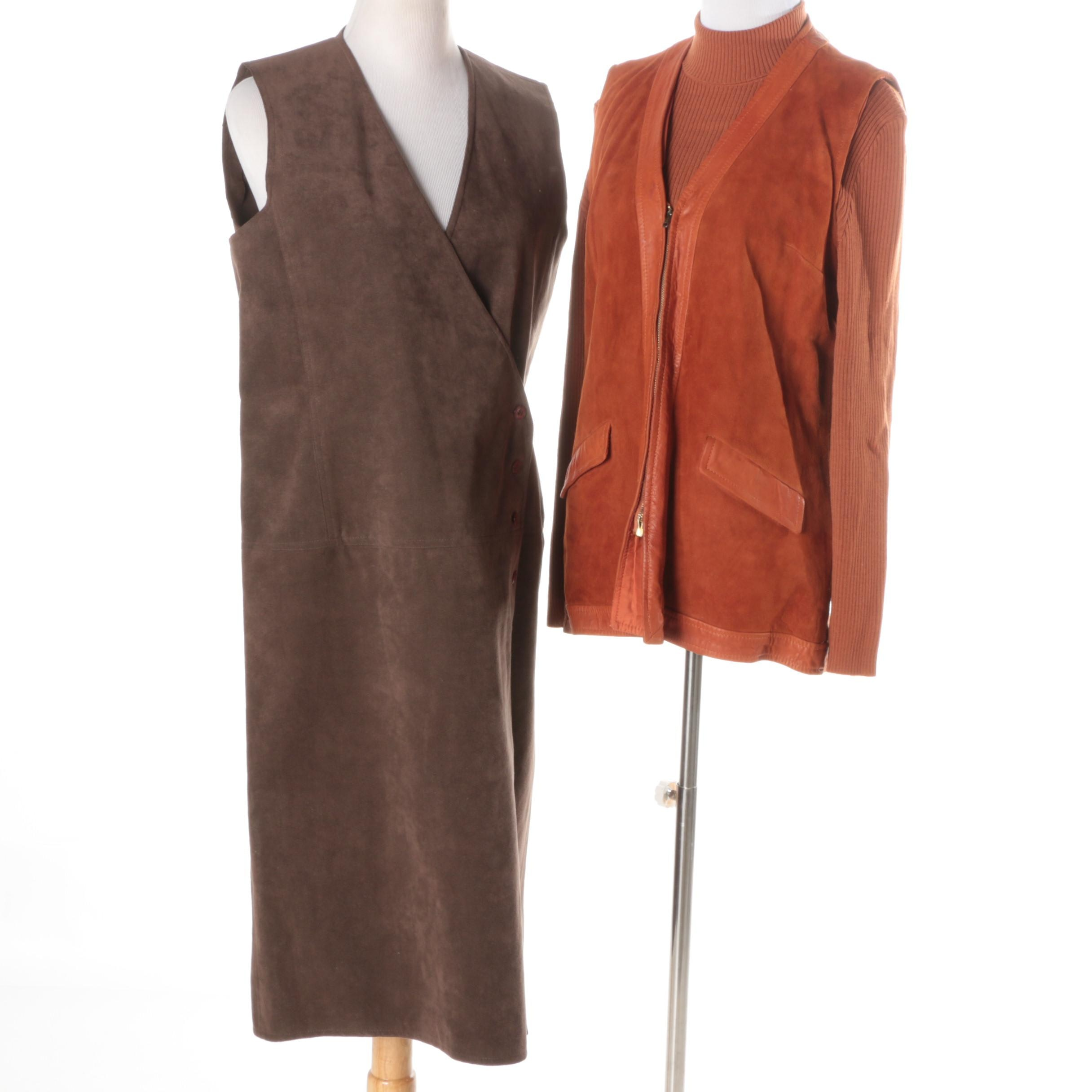 Women's Vintage Suede and Ultra Suede Separates