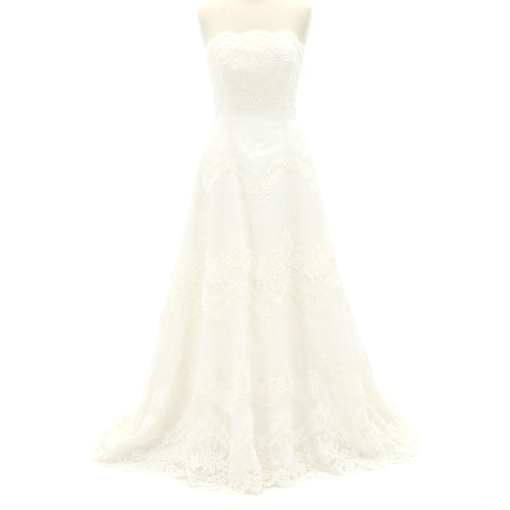 Jasmine Haute Couture Silk Wedding Dress