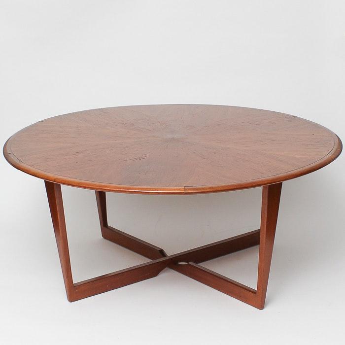 Mid Century Modern Circular Coffee Table