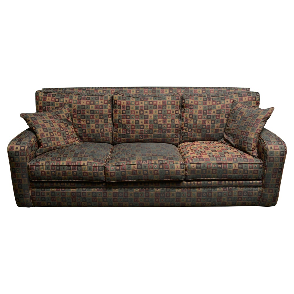 Upholstered Sofa by Precedent-Sherrill Furniture