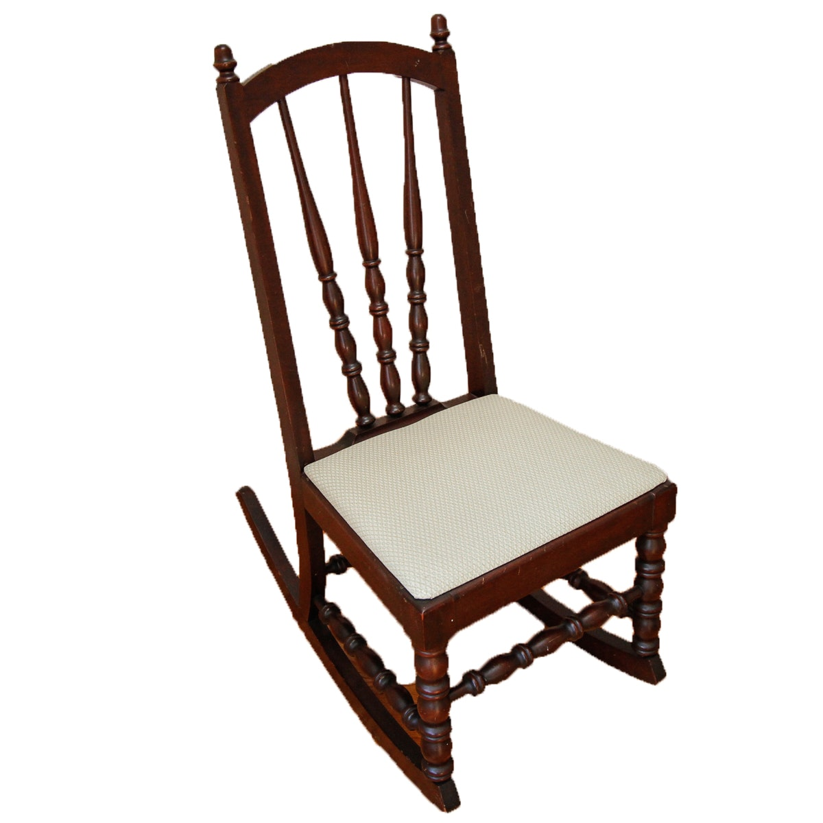 Vintage Turned Rocking Chair