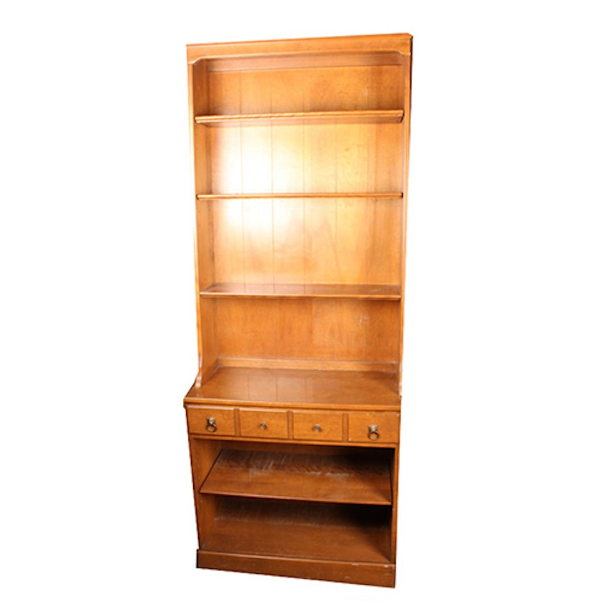 decorative hill projects cabinet bookcase maple tiger blue woodwork and