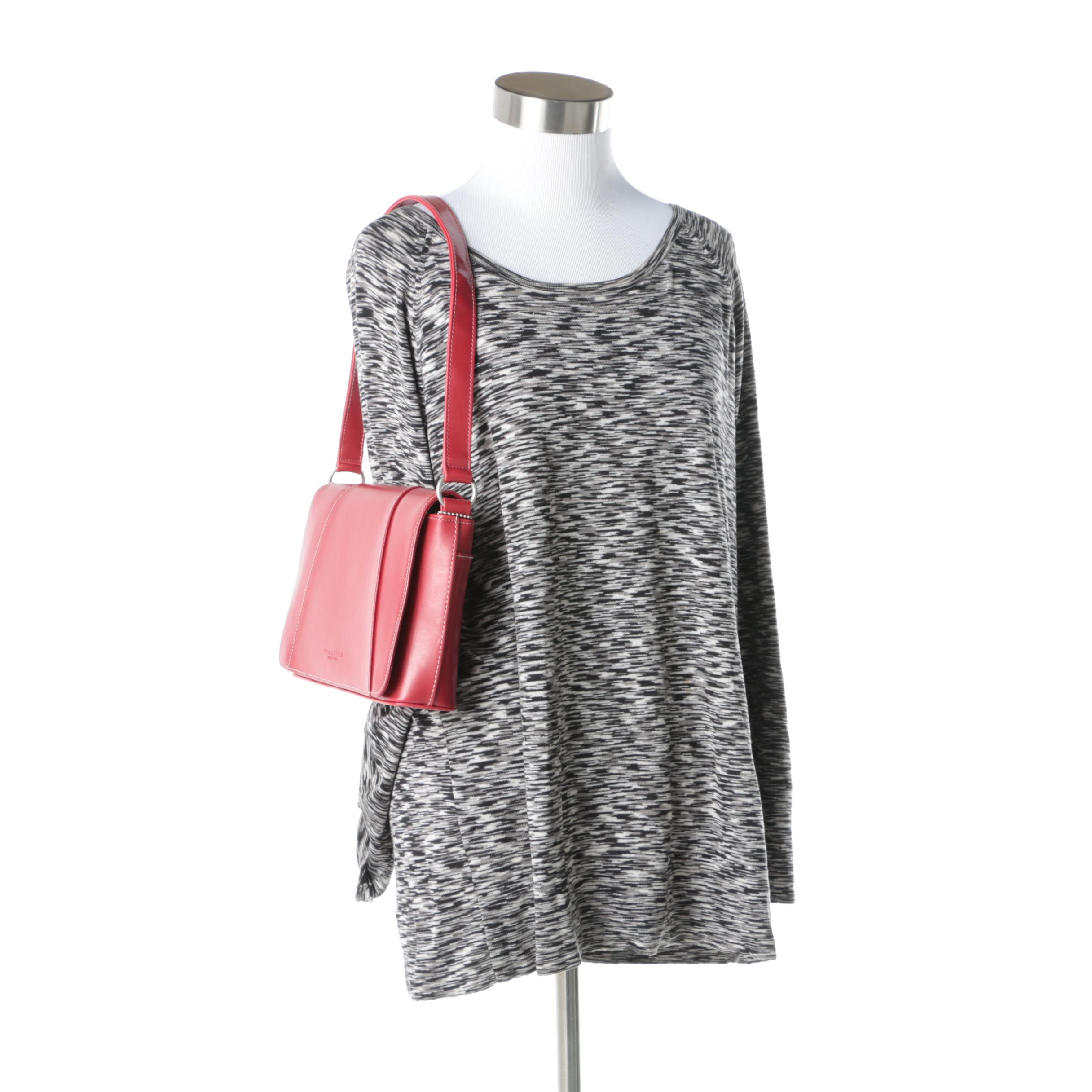 Kenneth Cole Reaction Sweater and Handbag