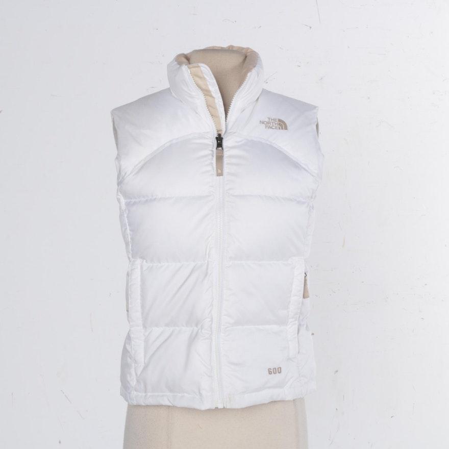 04840fdd6 Girl's The North Face White Down Vest