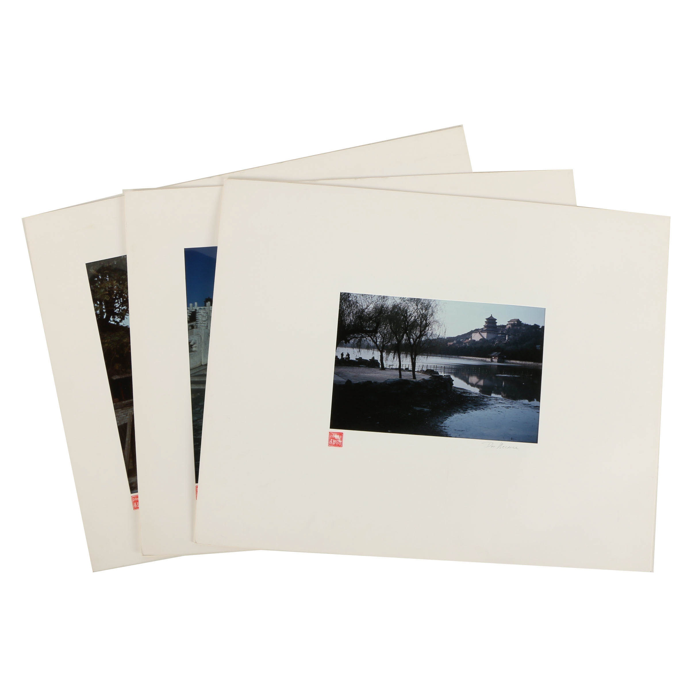 Assortment of Don Werner Color Photographs on Paper