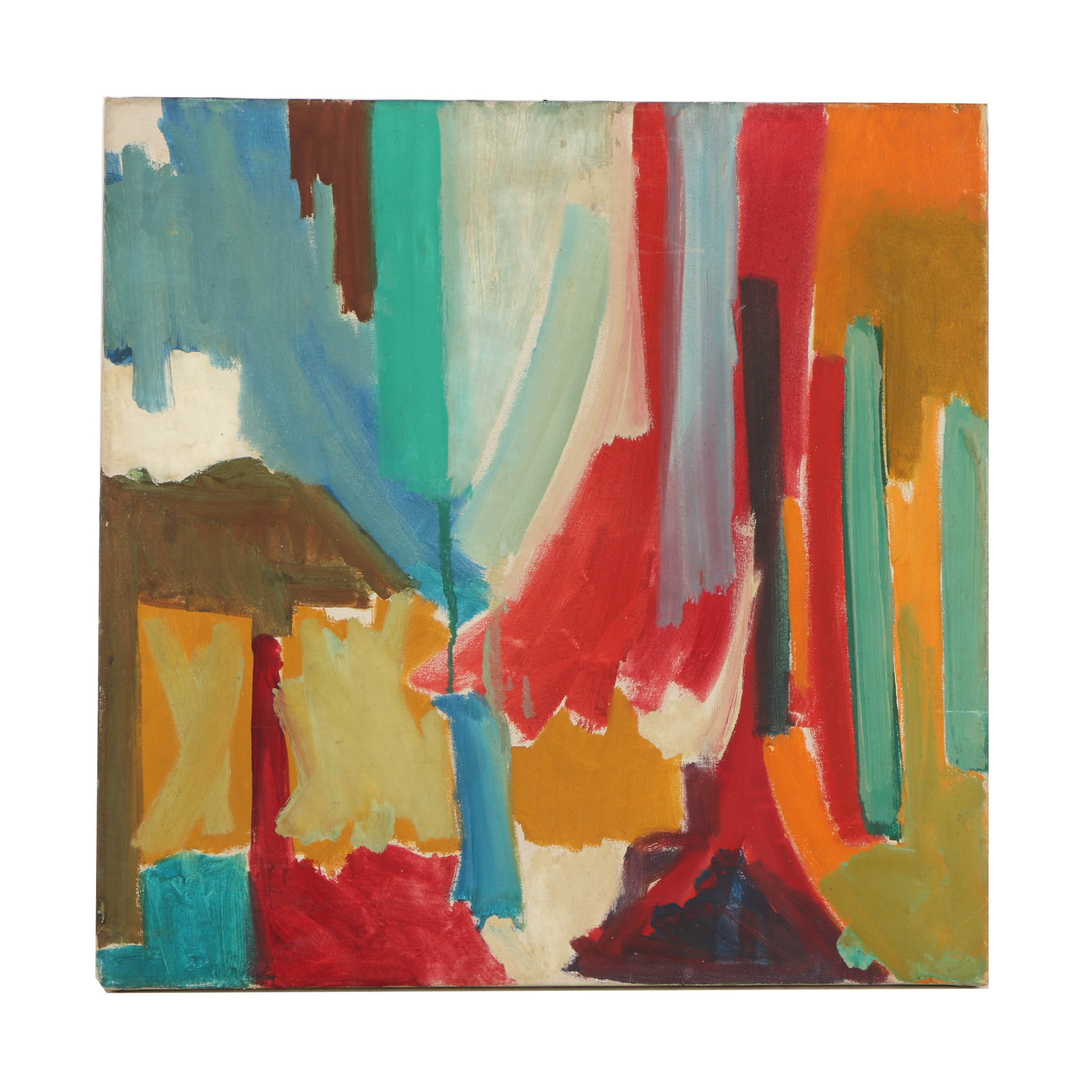 Oil Painting on Canvas of Abstract Composition