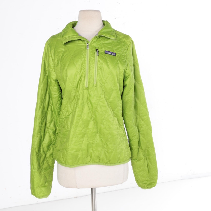 Patagonia Women S Quilted Jacket: Women's Patagonia Lime Green Quilted Jacket