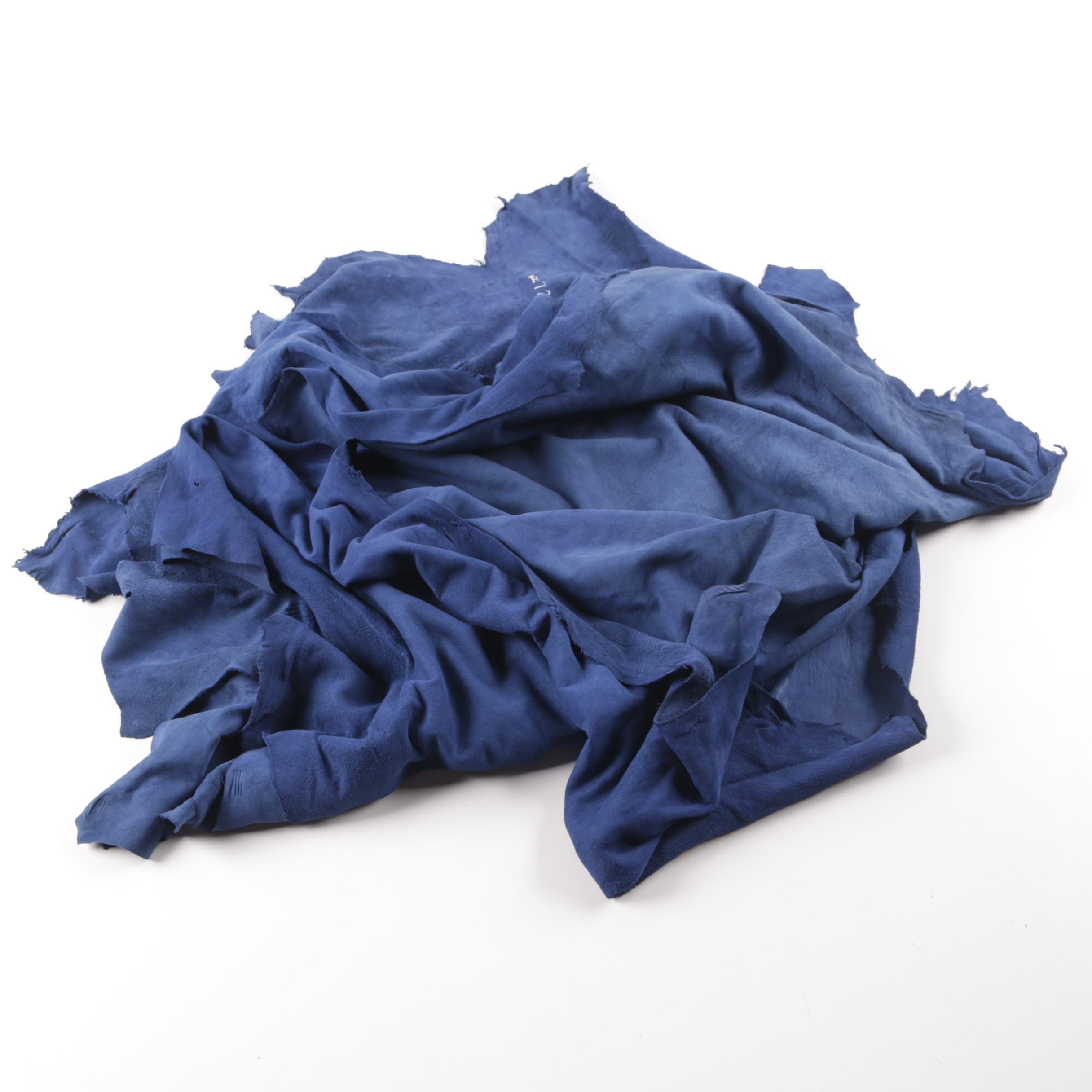 Blue Leather Hides