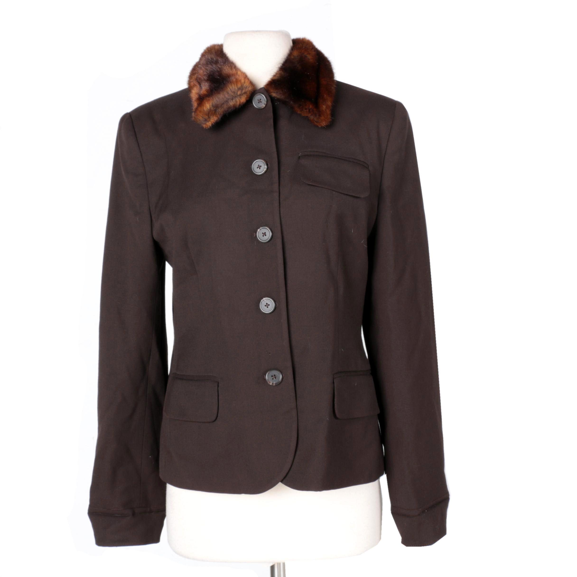 Women's Lauren Ralph Lauren Brown Jacket