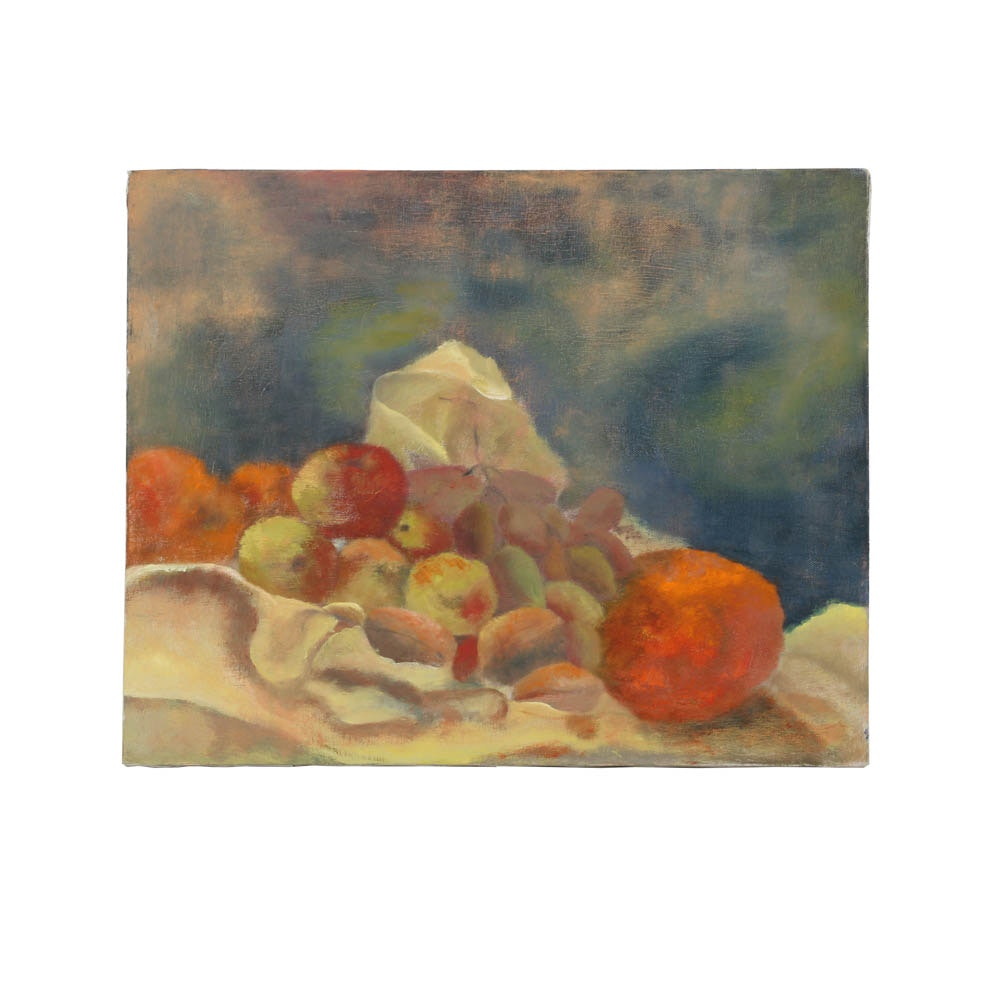 Wendy Lax Oil Painting on Canvas of a Still-Life