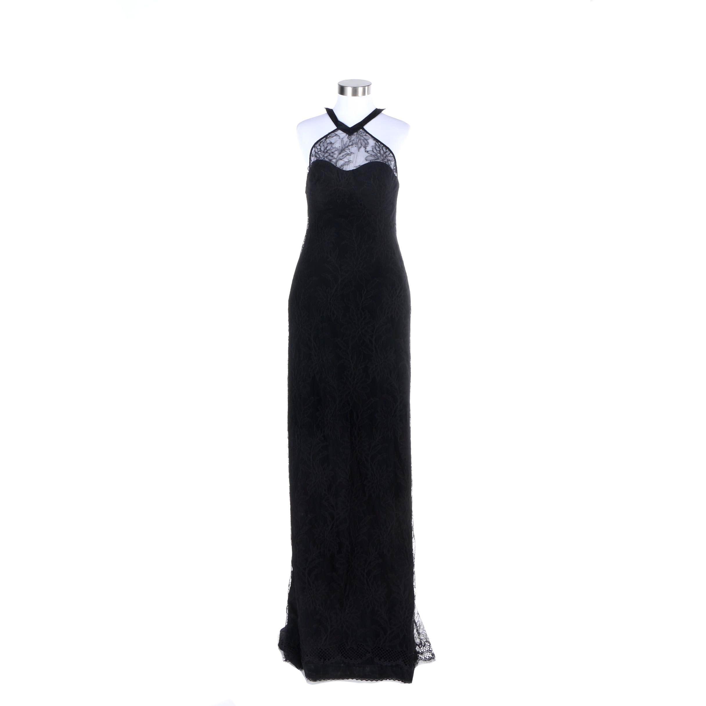 L'Wren Scott Serengeti Sunset Lace Dress