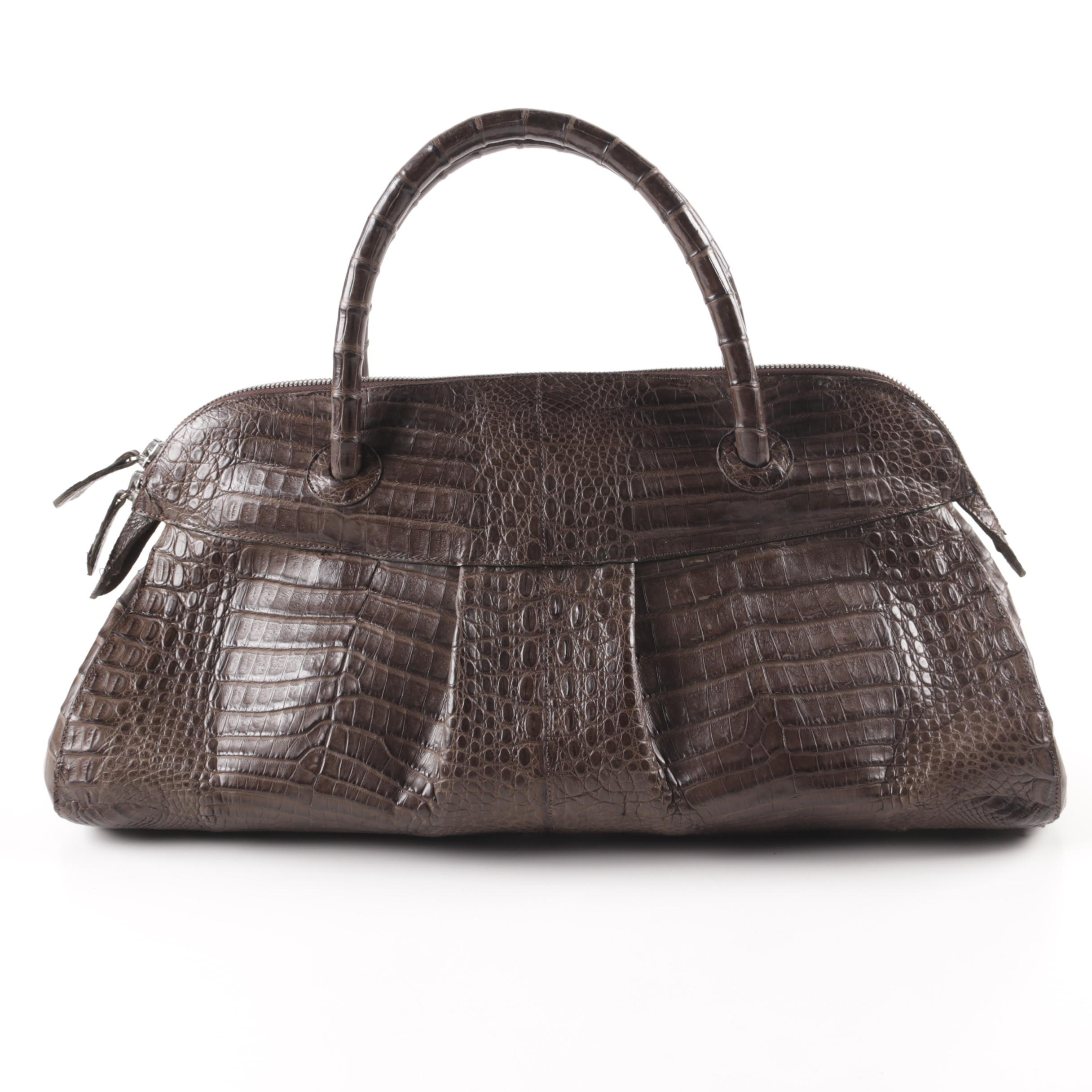 Rhonda Ochs Crocodile Leather Handbag