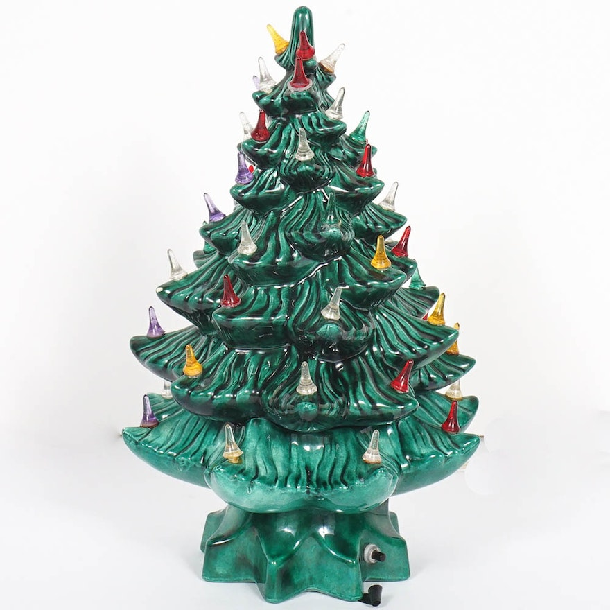Atlantic Mold Ceramic Christmas Tree ... - Atlantic Mold Ceramic Christmas Tree : EBTH
