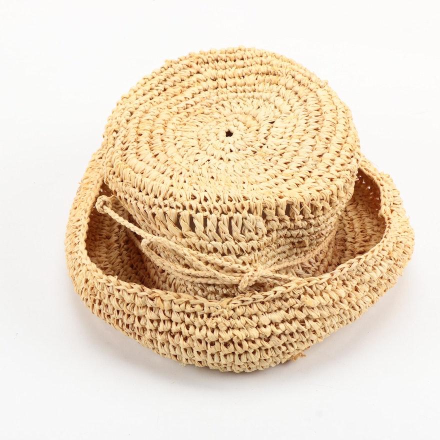 dd1f368057c Scala Straw Hat  1x1 ...