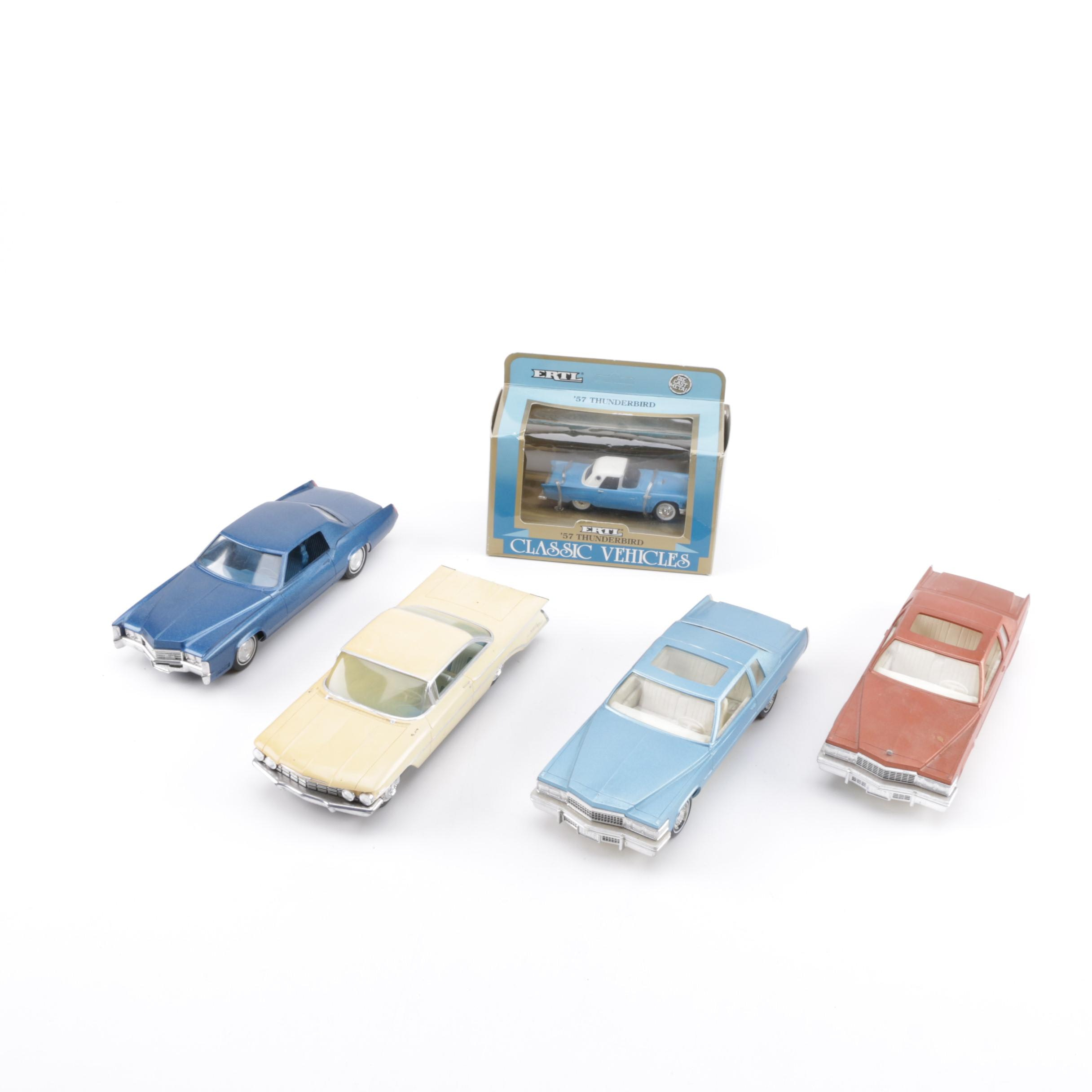 Jo-Han Model Cars and Ertl 1957 Thunderbird Die-Cast Car
