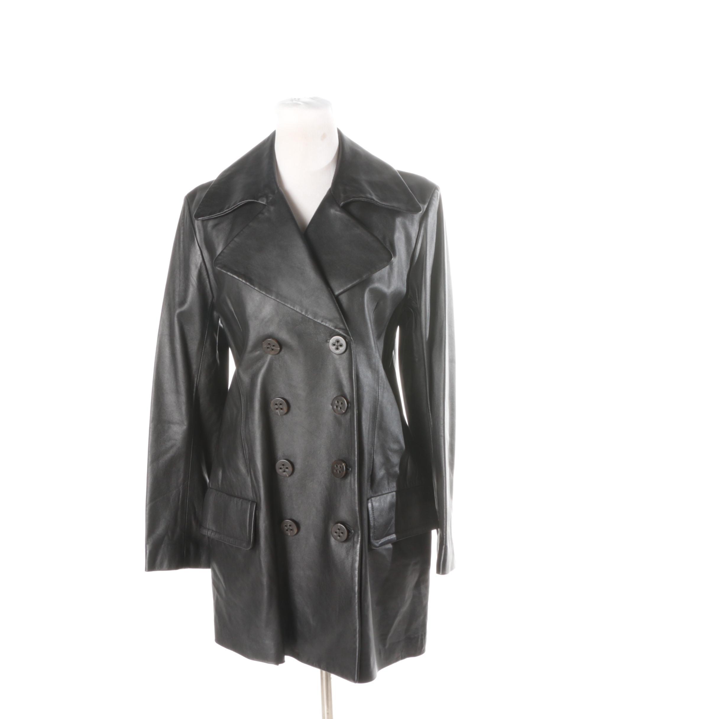 Women's EB International Leather Jacket