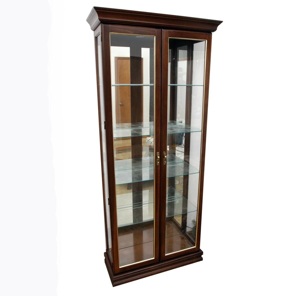 Illuminated Curio Cabinet