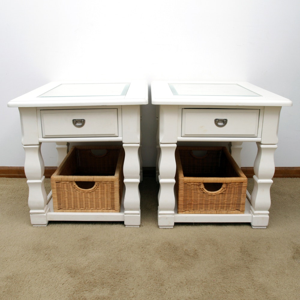 Glass Top End Tables by American Signature