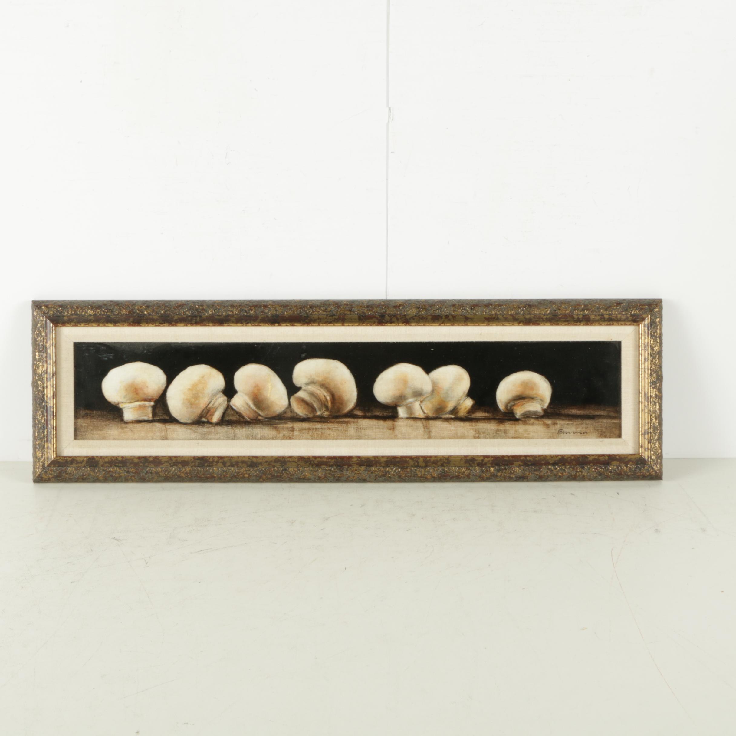 """Emma Pastel on Panel """"Mushrooms"""""""