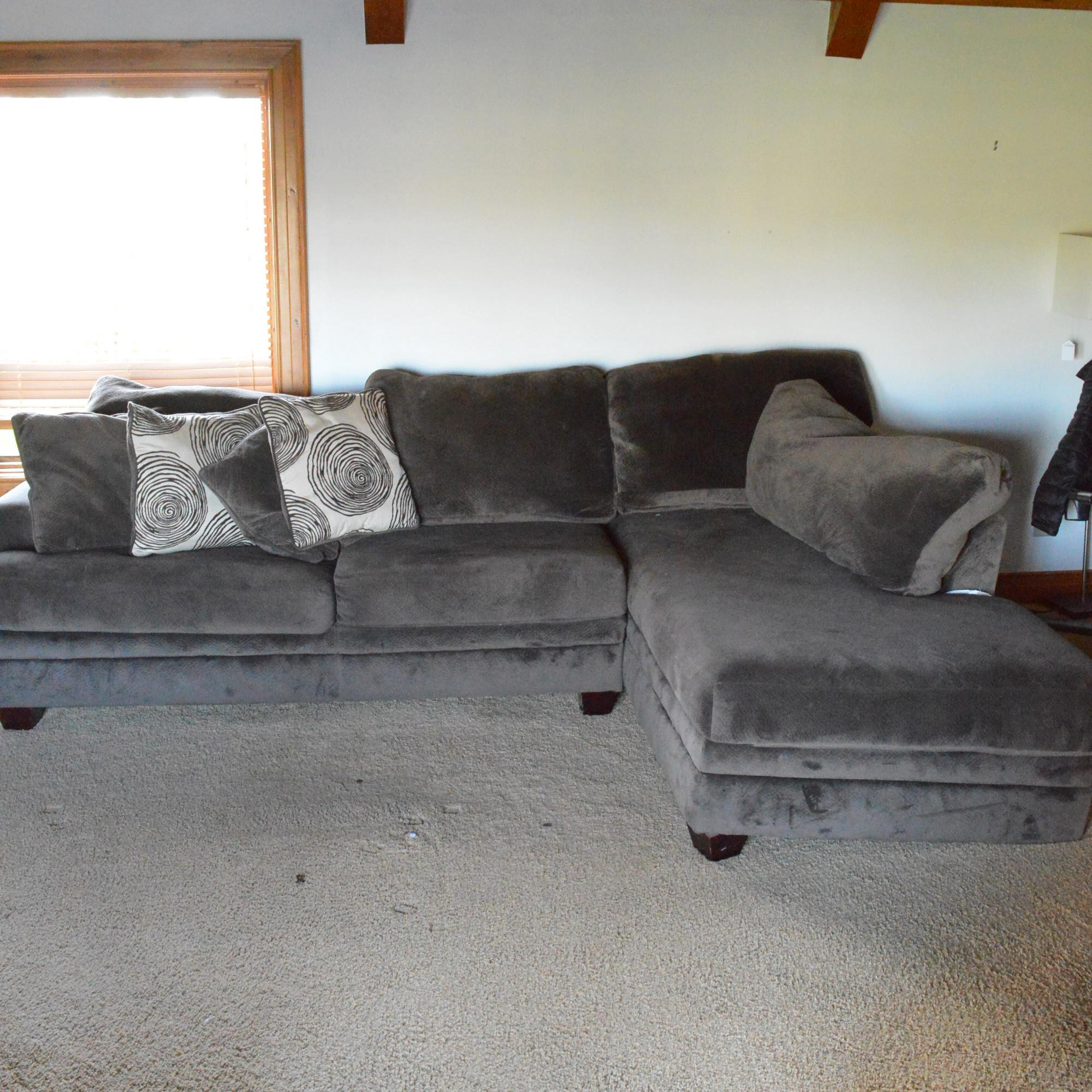 Upholstered Sectional with Chaise