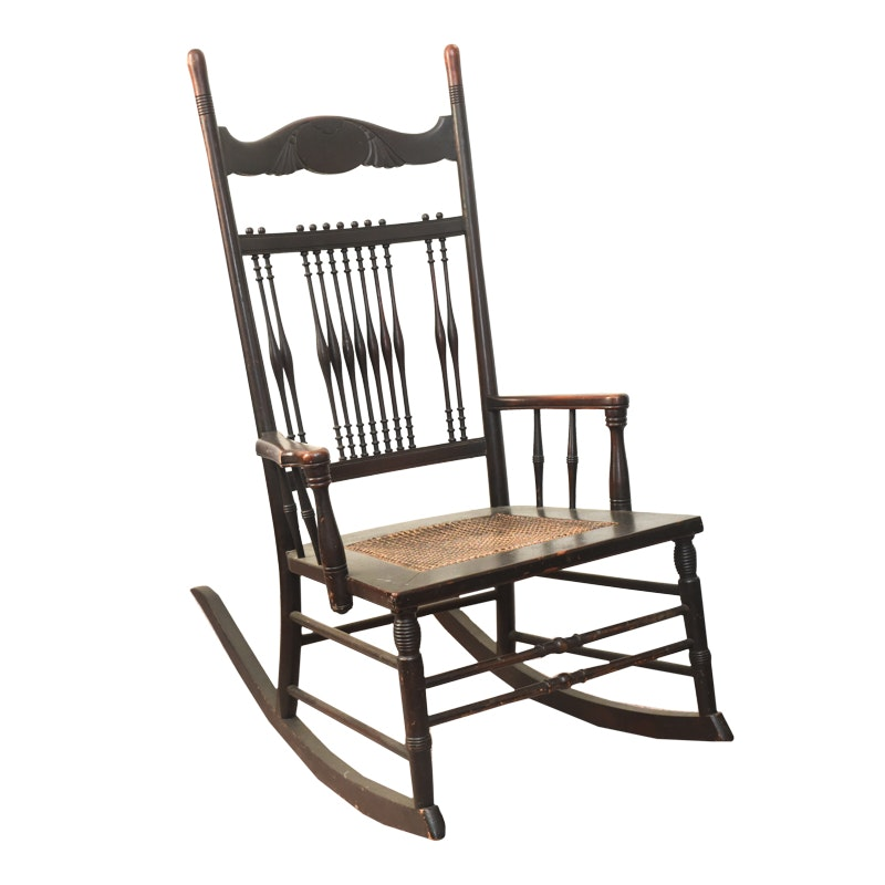 Antique Colonial-Revival Rocking Chair