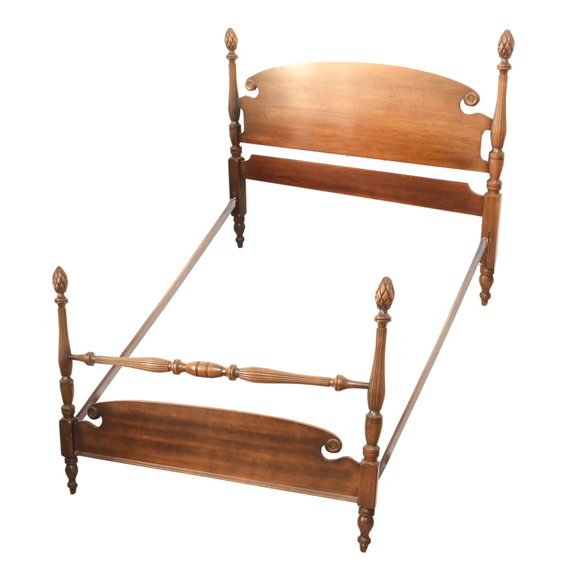Vintage Federal Style Full Sized Bed Frame