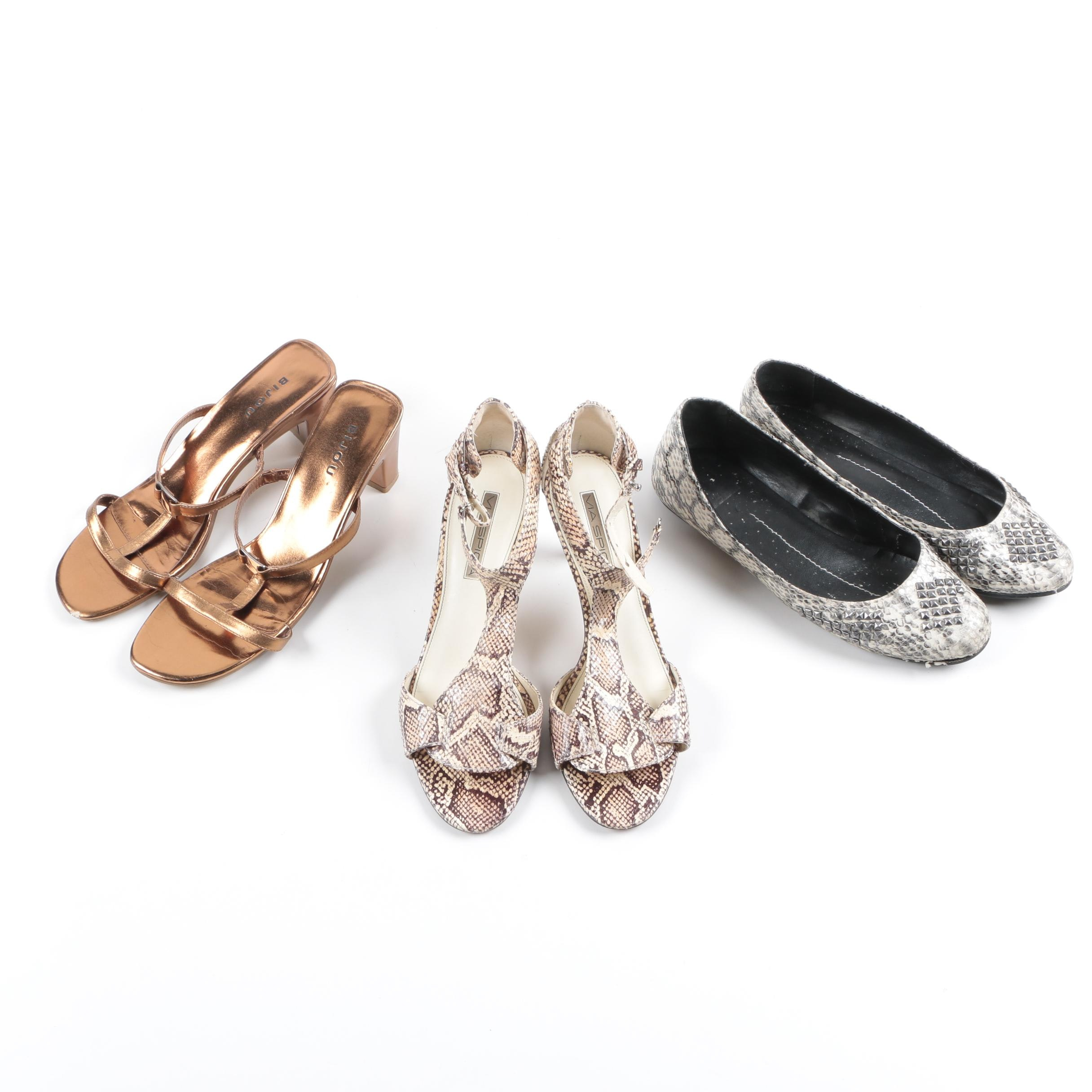 Heels and Flats Including VIa Spiga