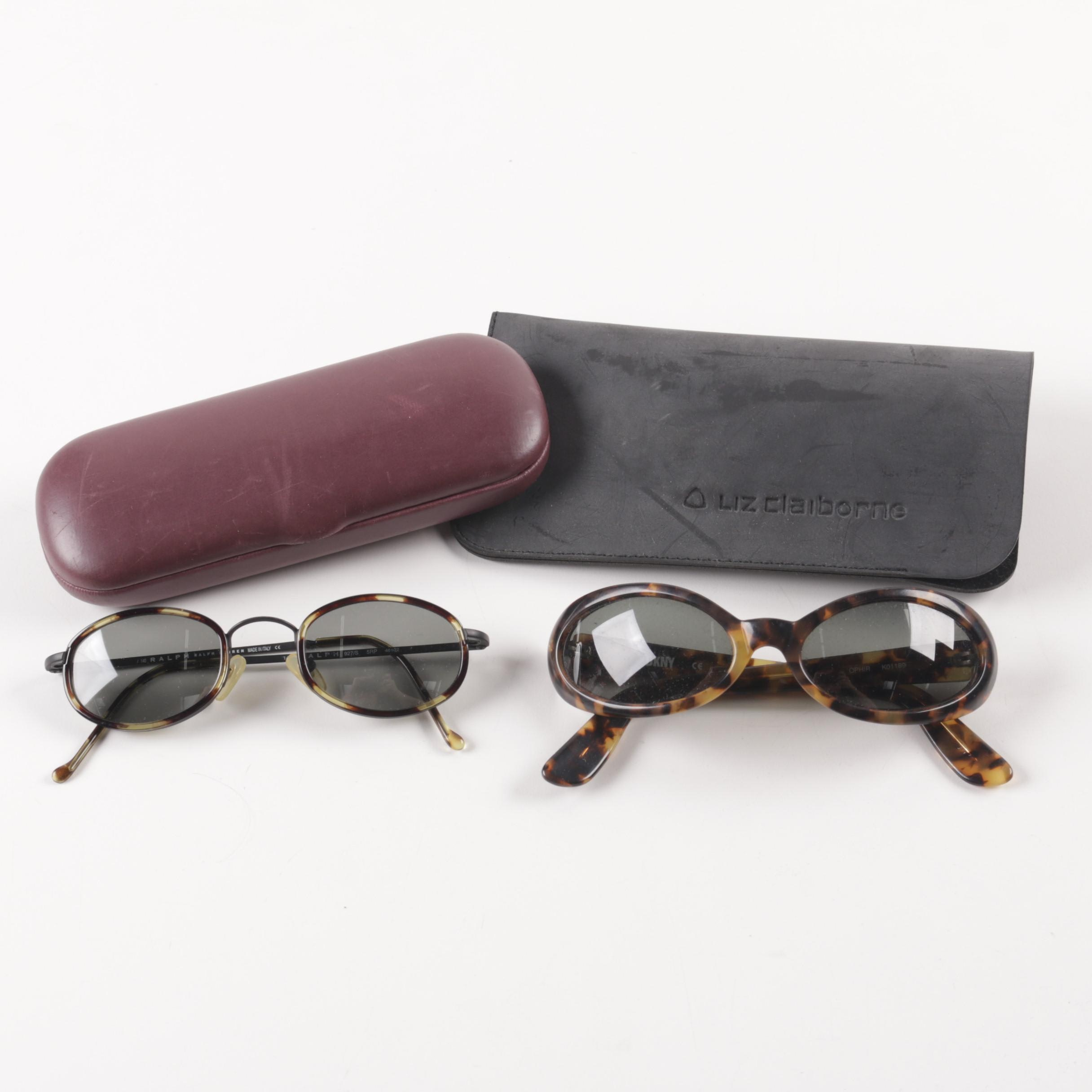 Women's Vintage Sunglasses Including Ralph by Ralph Lauren