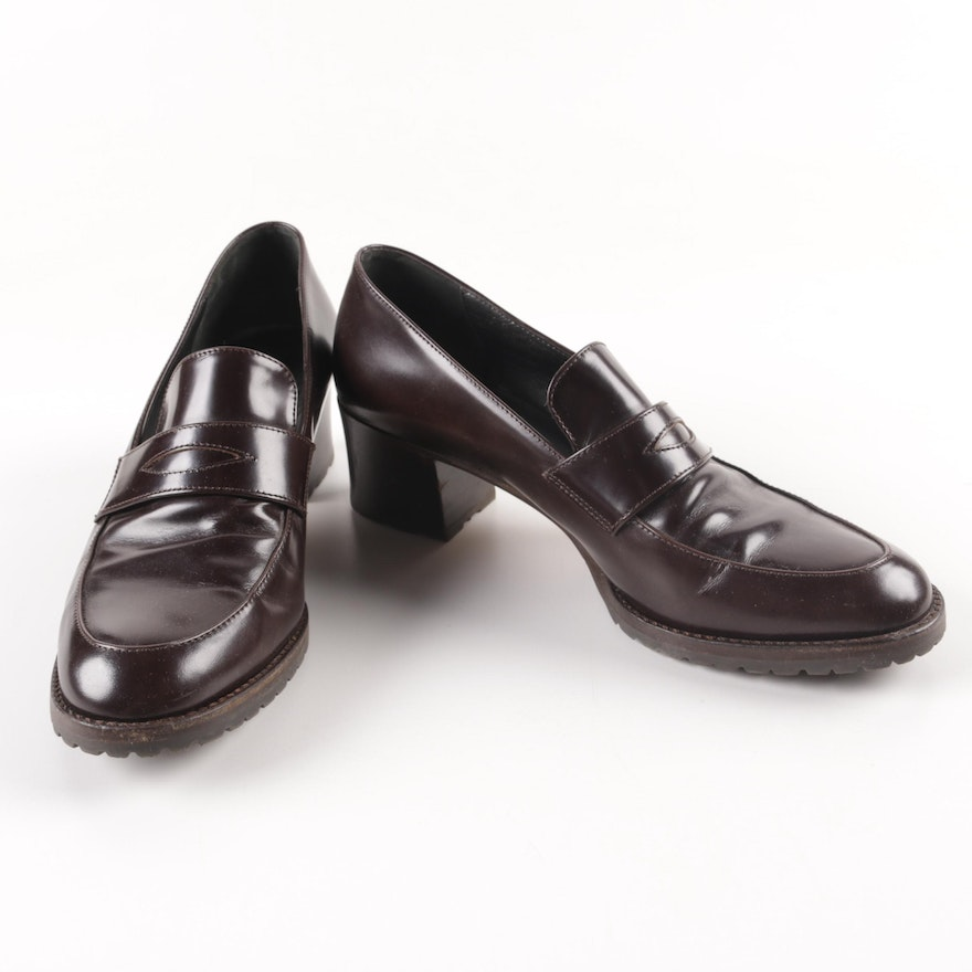 81eba42d1f7 Women s Cole Haan Brown Leather Loafers   EBTH