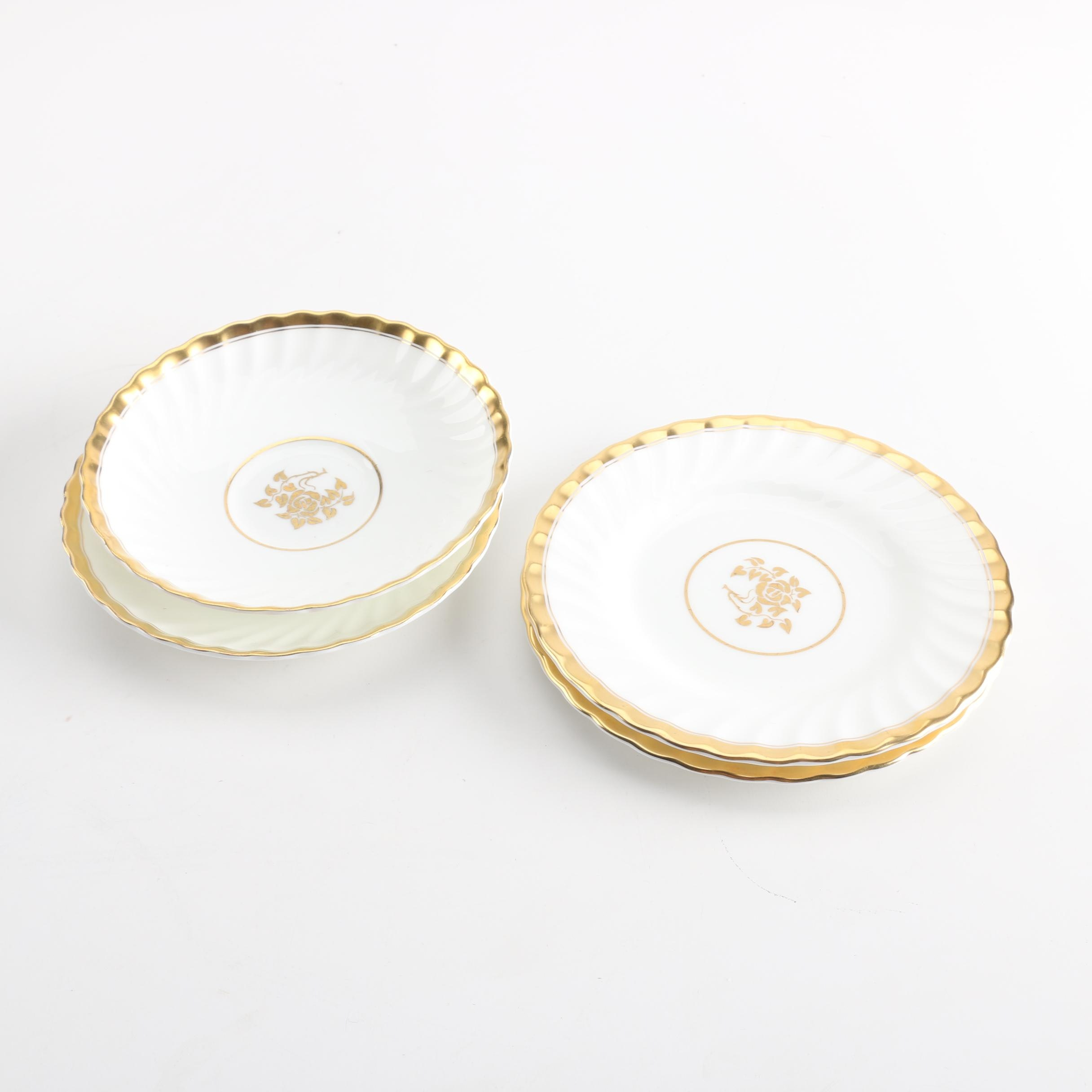 "Vintage Minton ""Gold Rose"" Bone China Tableware"