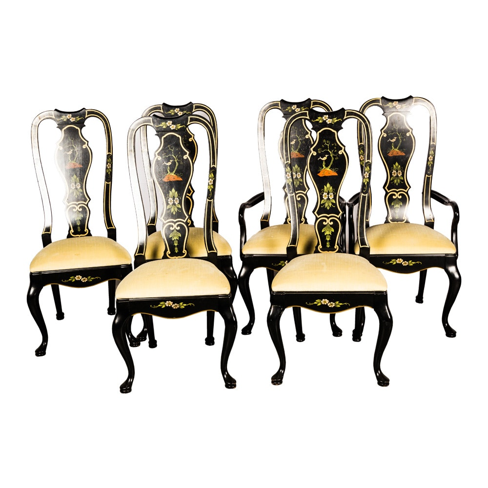 Chinoiserie Dining Chairs by Thomasville